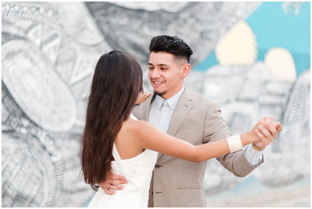 Séance photo de couple à Las Vegas