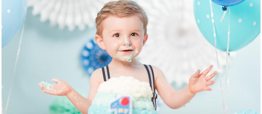 Séance Photo Smash the Cake | Evreux | Premier Anniversaire