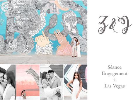 Séance Engagement à Las Vegas | Z. & J.