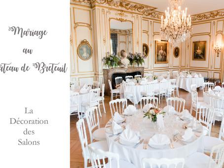 Mariage au château de Breteuil | Décoration
