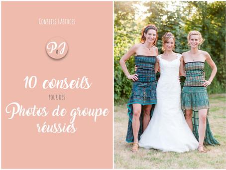 10 Conseils pour des photos de groupe réussies