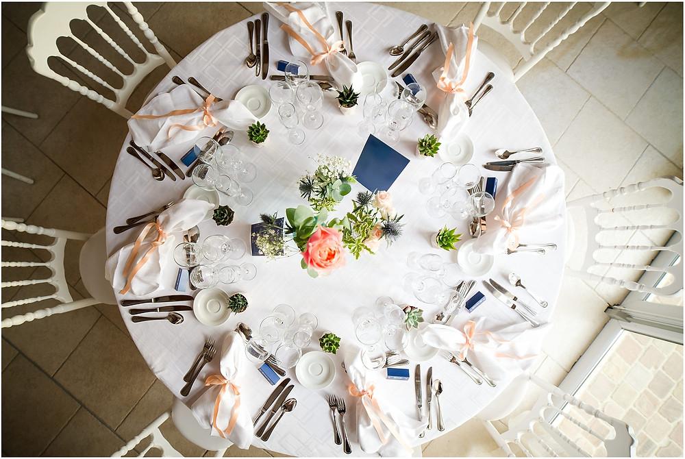 table mariage la vallée aux pages