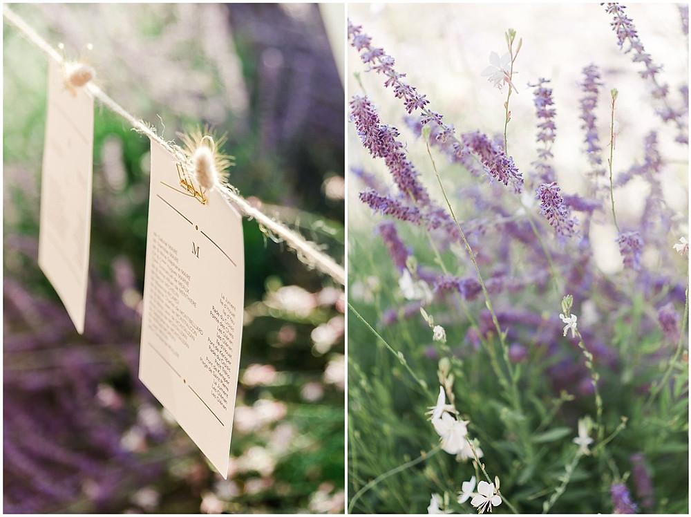 sur ces photos, on peut voir la décoration d'un mariage sur une propriété familiale en Bourgogne.