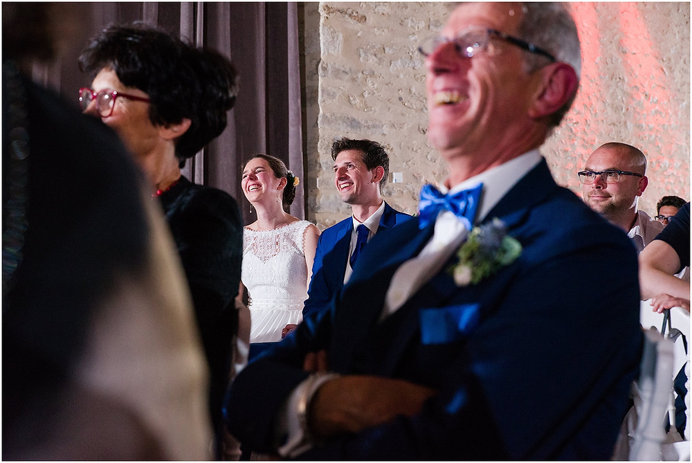 Soirée mariage domaine de la vallée aux pages