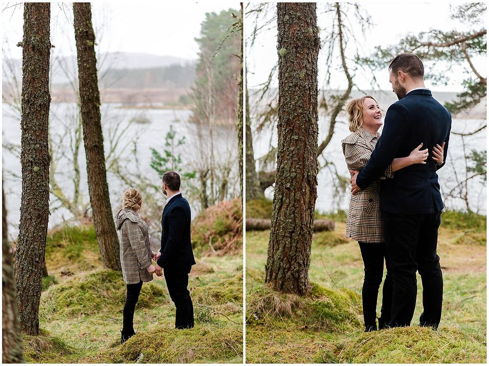 Séancce Engagement Ecosse - Photographe mariage Yvelines