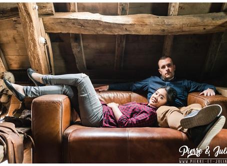 L. & J. | Une séance photo en couple aux Bonnes Joies