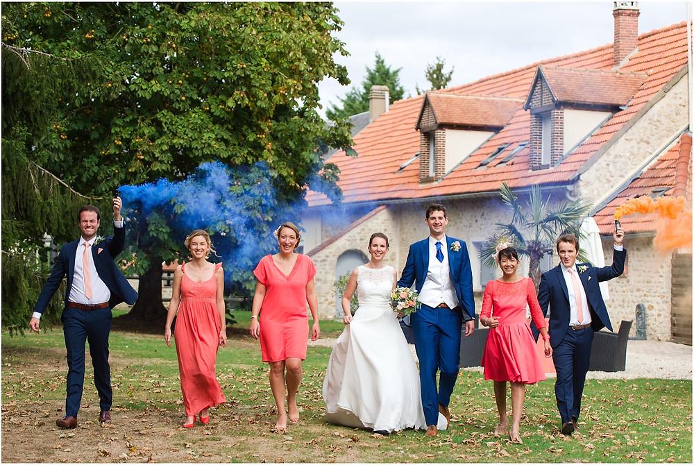 photo groupe fumigènes la vallée aux pages
