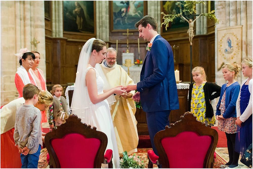échange des alliances mariage yvelines