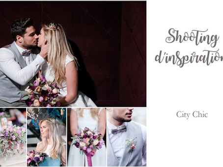 Shooting d'Inspiration Mariage | City Chic