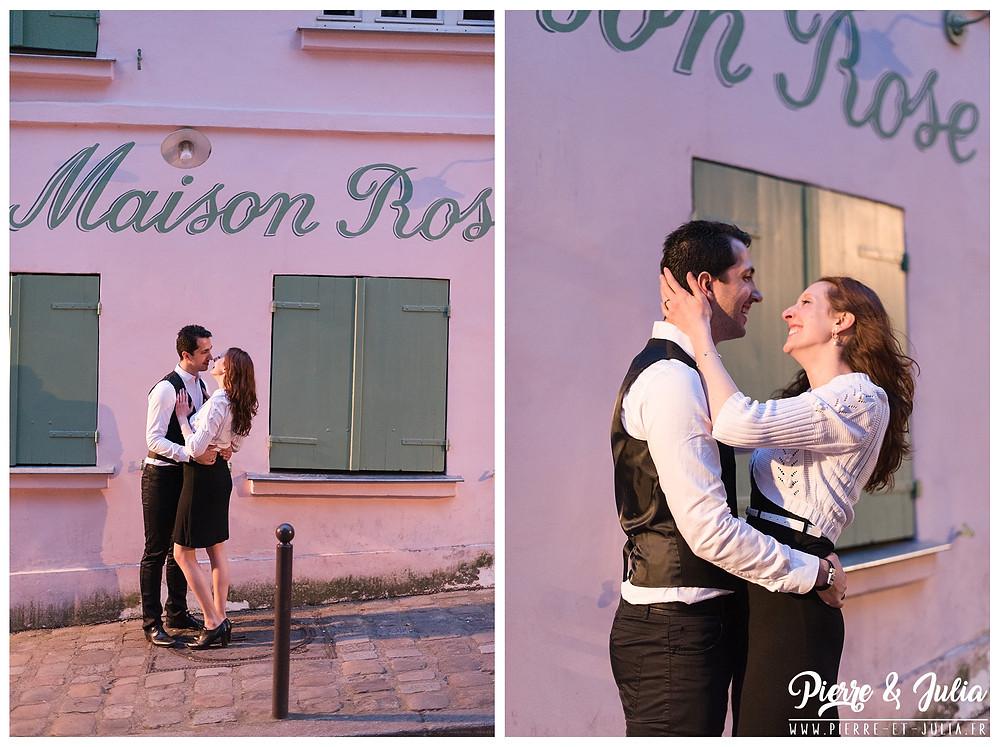 séance engagement Montmartre la Maison Rose