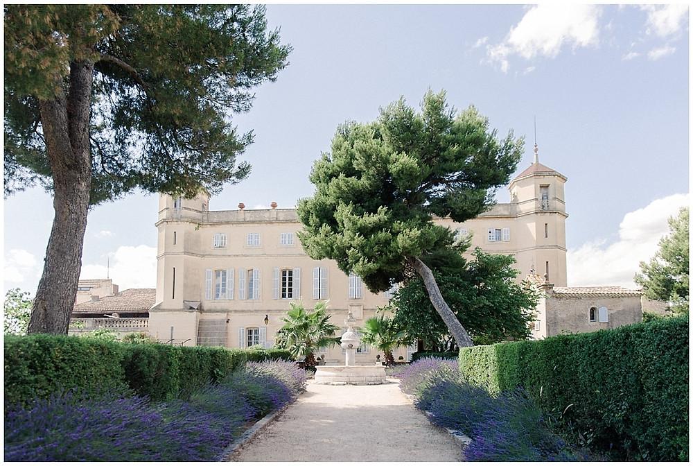 Allée du château de Sénéguier
