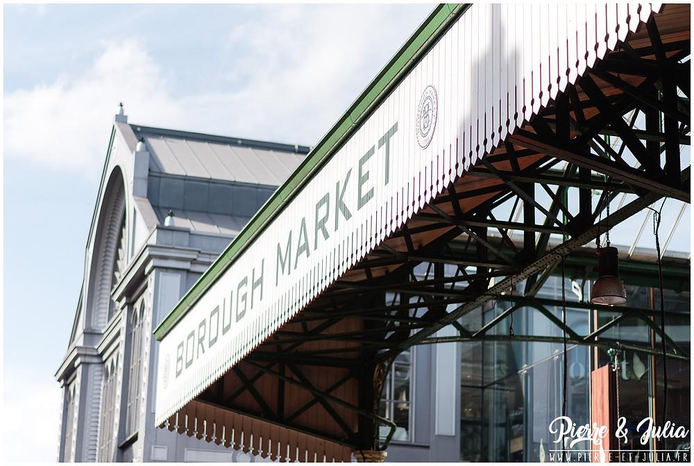 Séance engagement Londres Borough Market