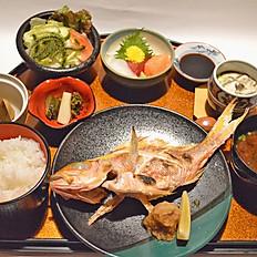 地魚御膳(塩焼き)