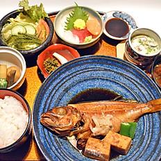 地魚御膳(煮付)