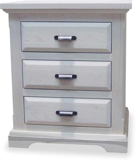 Chateau 3 Drawer Night Table