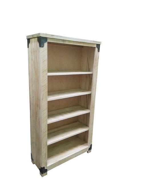 Iron Corner Bookcase