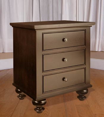 Georgetown 3 Drawer Night Table