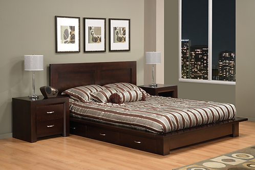 Contempo Storage Bed