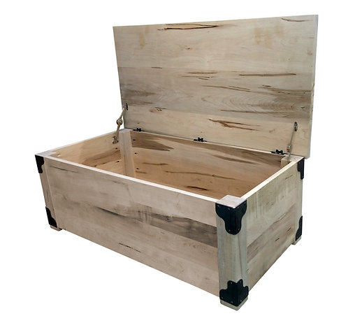Iron Corner Blanket Box