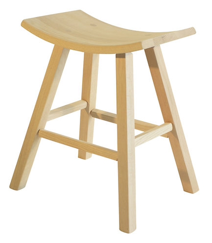 Scoop Seat Stool