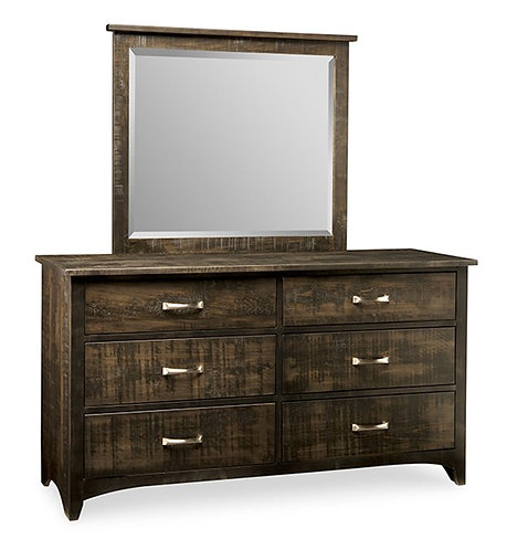 Bancroft 6 Drawer Dresser /w Mirror