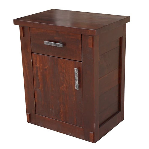Homestead 1 Drawer 1 Door Night Table
