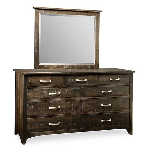 Bancroft 9 Drawer Dresser /w Mirror
