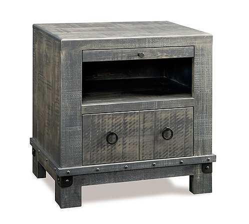 Barrelworks 1 Drawer Night Table
