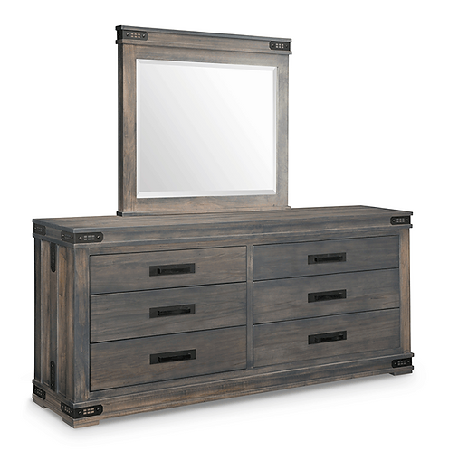 Gastown 6 Drawer Long Dresser