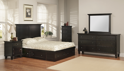 Georgetown Storage Bed
