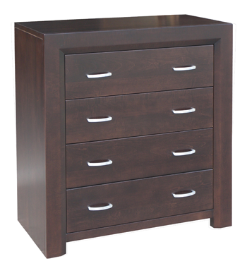 Contempo 4 Drawer Chest