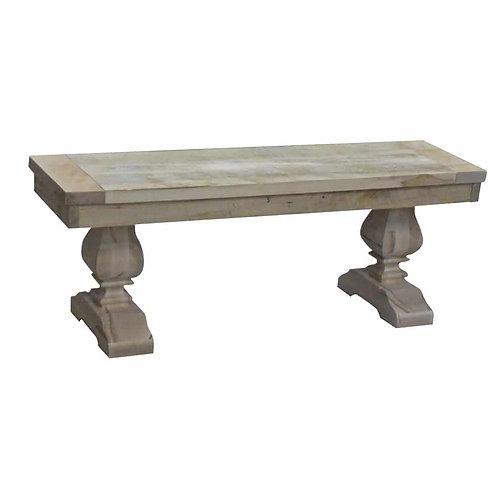 Century Pedestal Bench