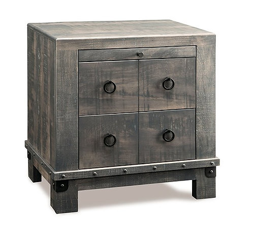 Barrelworks 2 Drawer Night Table