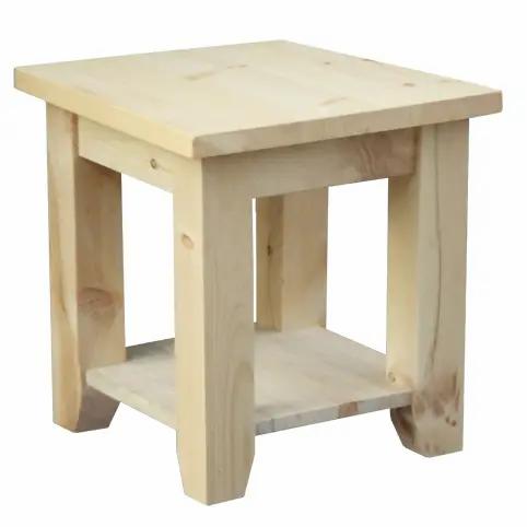 Dakota End Table /w Shelf