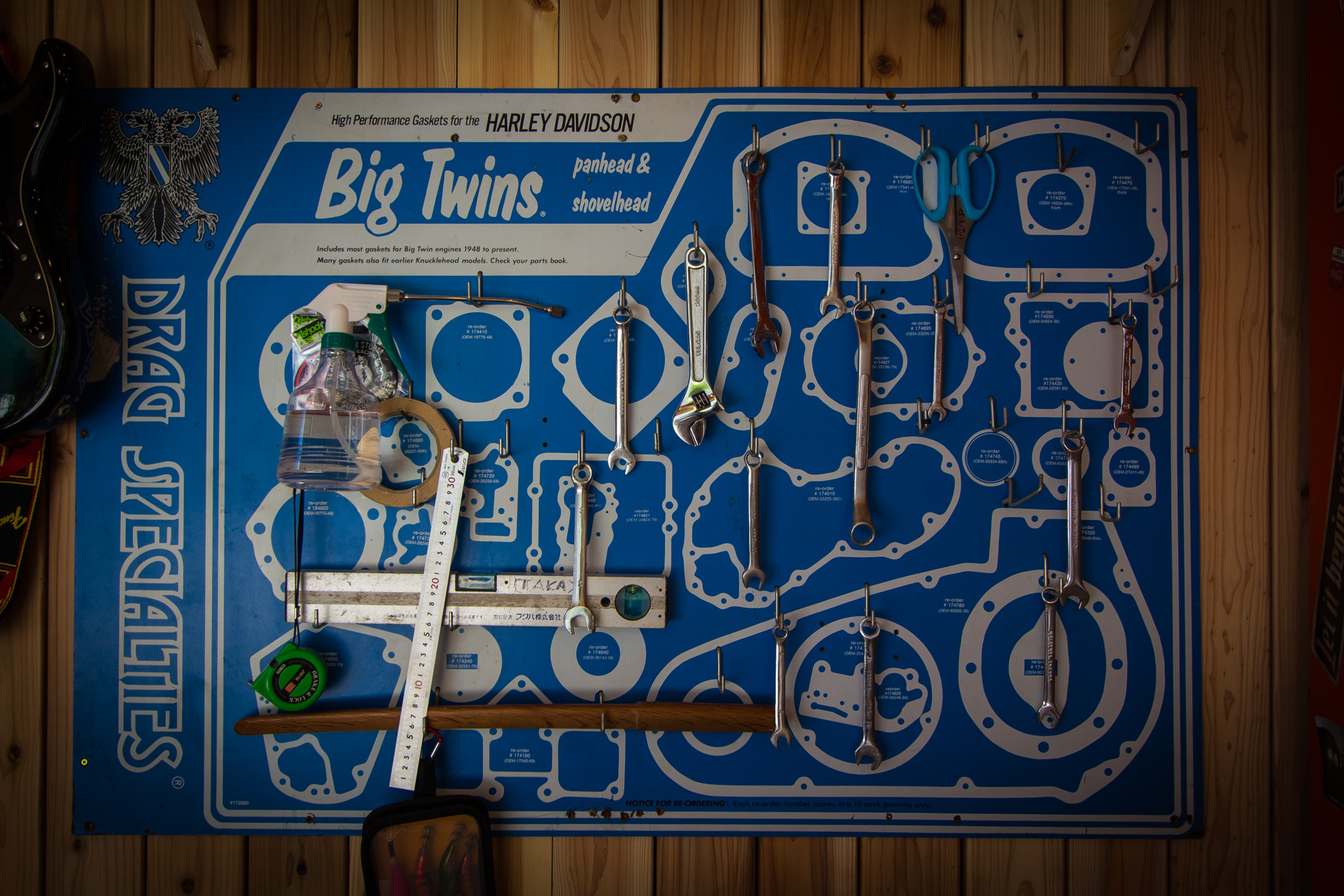 壁掛け工具セット | 九州・福岡のガレージ