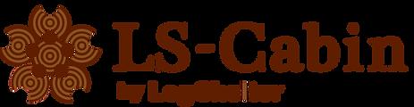小さなログハウスのロゴ