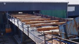 九州の木材を厳選して柱に使用しています