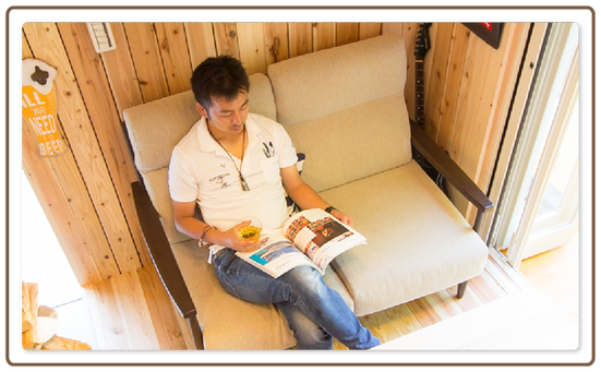 福岡のログハウスメーカーの別荘