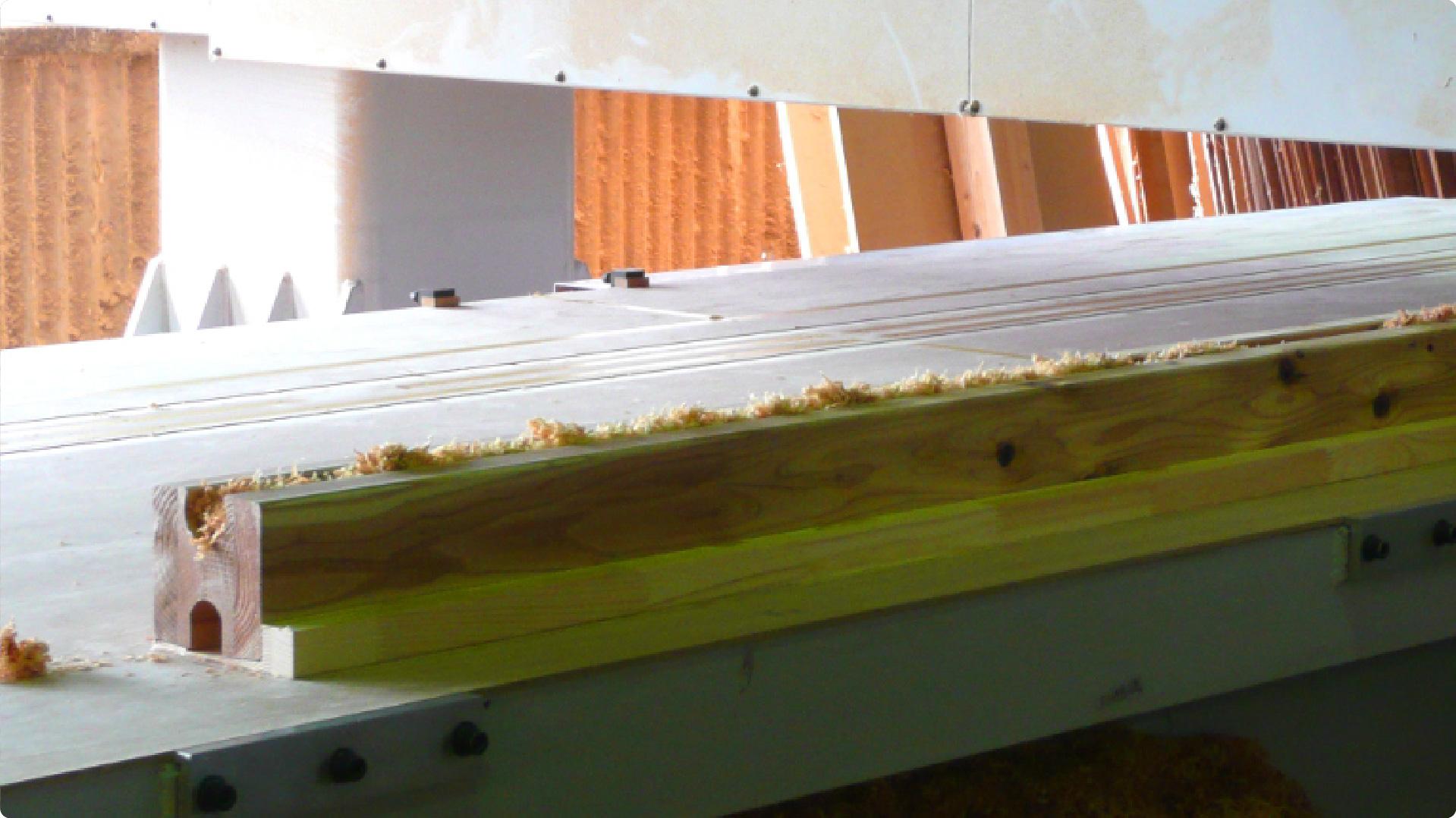 ミニログハウス の国産木材 | 九州・福岡のログハウスキット
