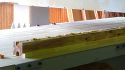 ミニログハウス の国産木材   九州・福岡のログハウスキット