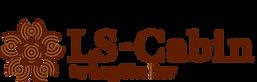 九州・福岡のミニのログハウスのロゴ