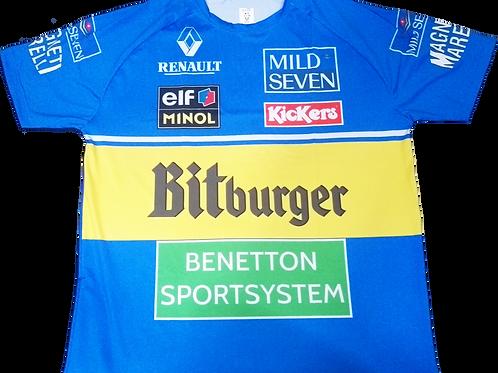 Camiseta Benetton 1995
