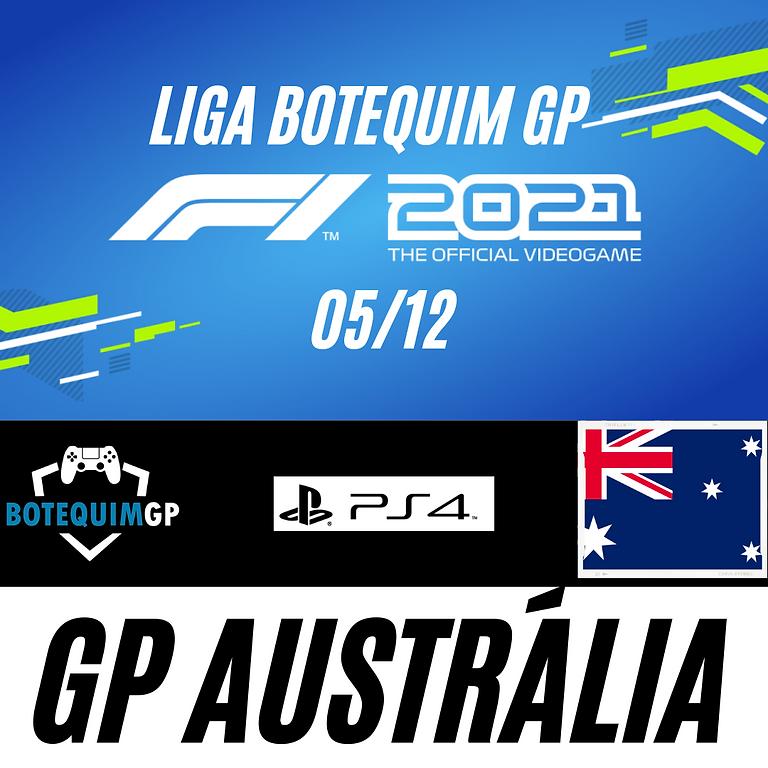 GP AUSTRÁLIA - LIGA BOTEQUIM GP F1 2021