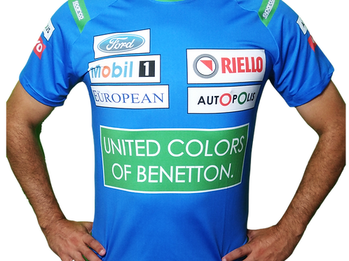 Camiseta Benetton 1990