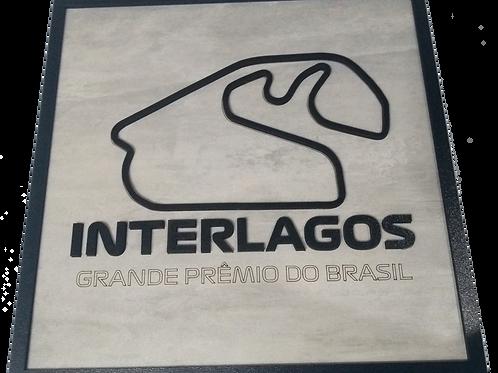 Quadro circuito Interlagos
