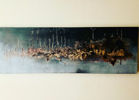 Reflections / 24 inches x 48 inches