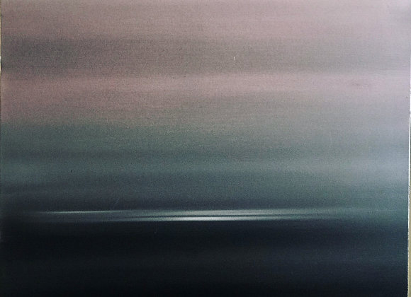 When light breaks / 30 inches x 30 inches