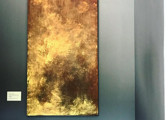Golden skies / 24 inches x 48 inches