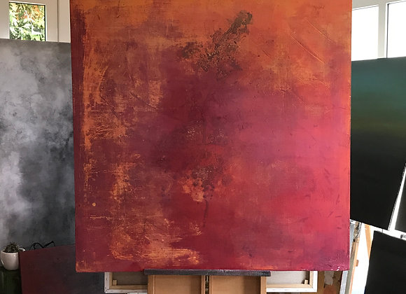 When Dawn Breaks / 48 inches x 48 inches