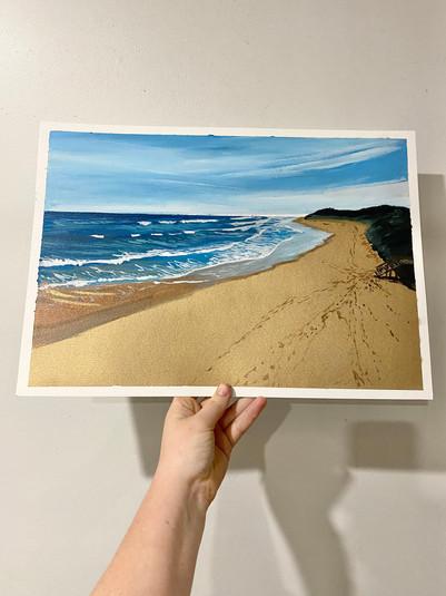 May Painting #29 13th Beach